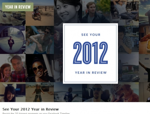 Facebook's Most Commented 2012
