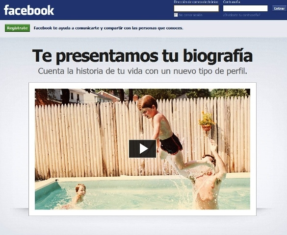 El nuevo Timeline de Facebook