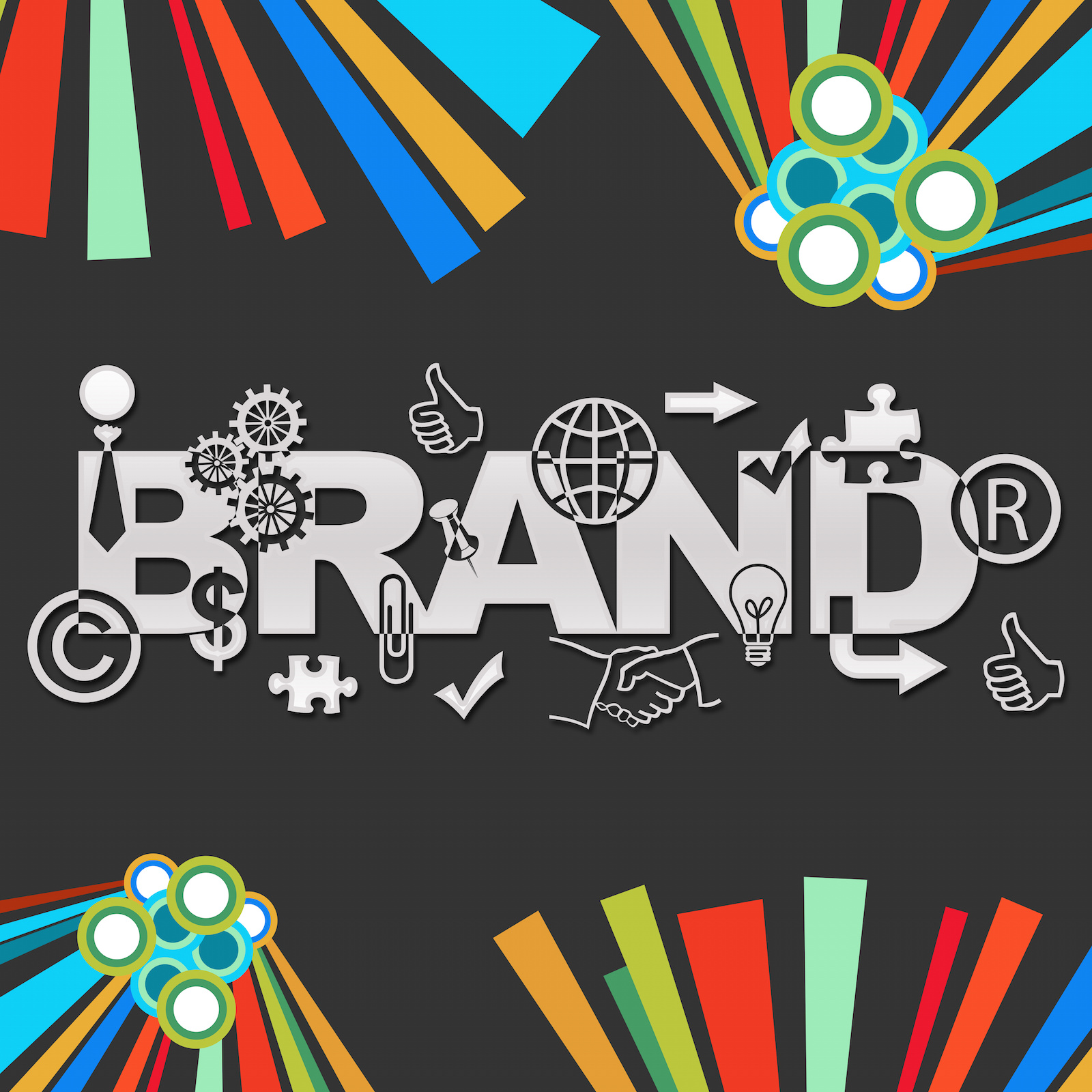 Graphic mark as a branding element