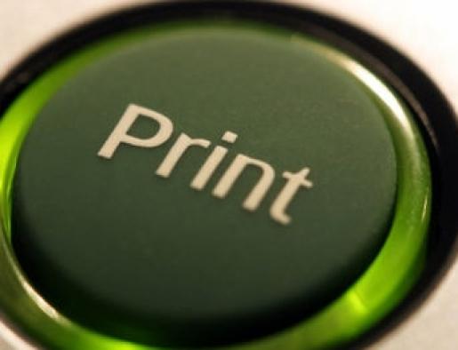 Imprime en Verde