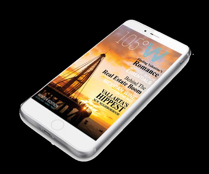 La revista de estilo de vida 105°W se lanza en Puerto Vallarta