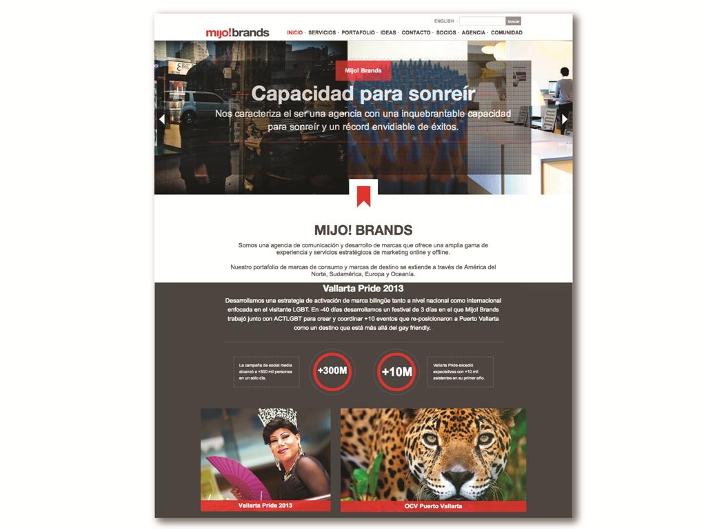 Mijo! Brands lanza su nuevo sitio web