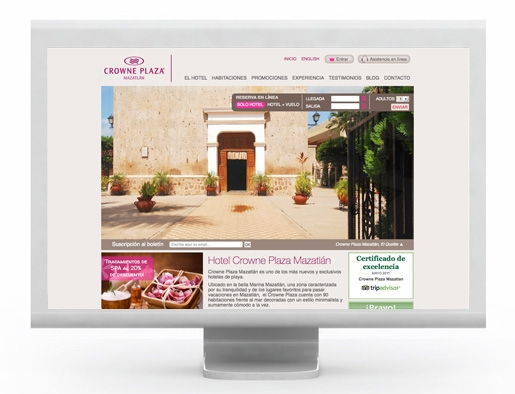 Mijo! Brands launches web strategy for Crowne Plaza Hotel Brand
