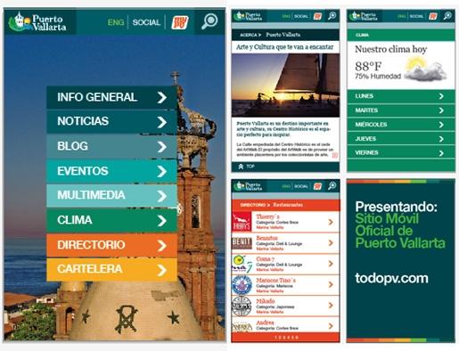 Mijo! Brands will proudly unveil Puerto Vallarta´s new mobile website