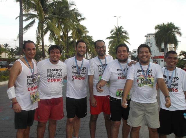 Mijo! Brands corre 5K en el Medio Maratón