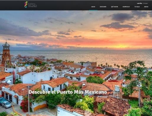 Una mirada al nuevo sitio web oficial de Puerto Vallarta
