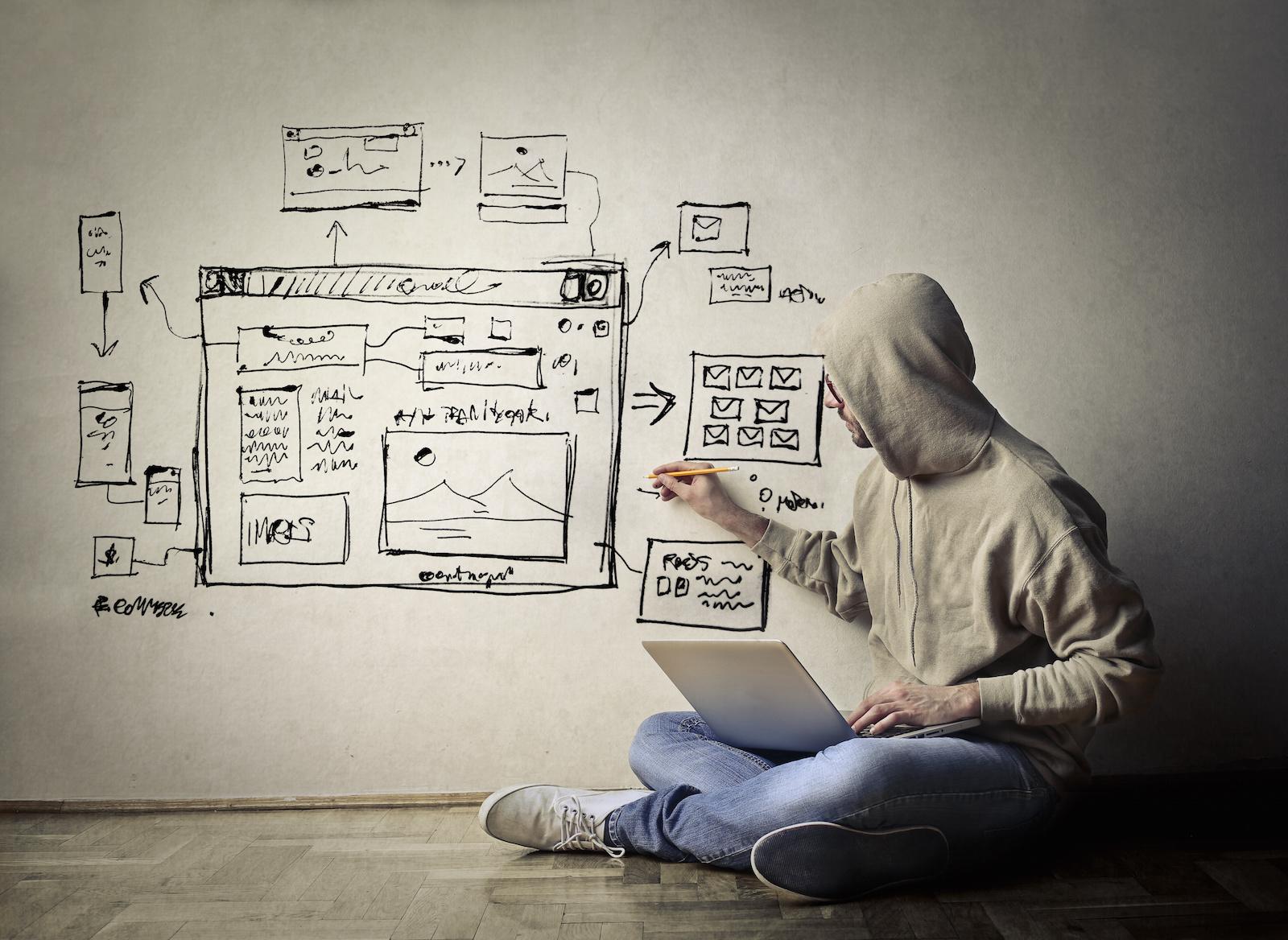 El huevo o la gallina; ¿dónde debe comenzar el desarrollo de un sitio web?