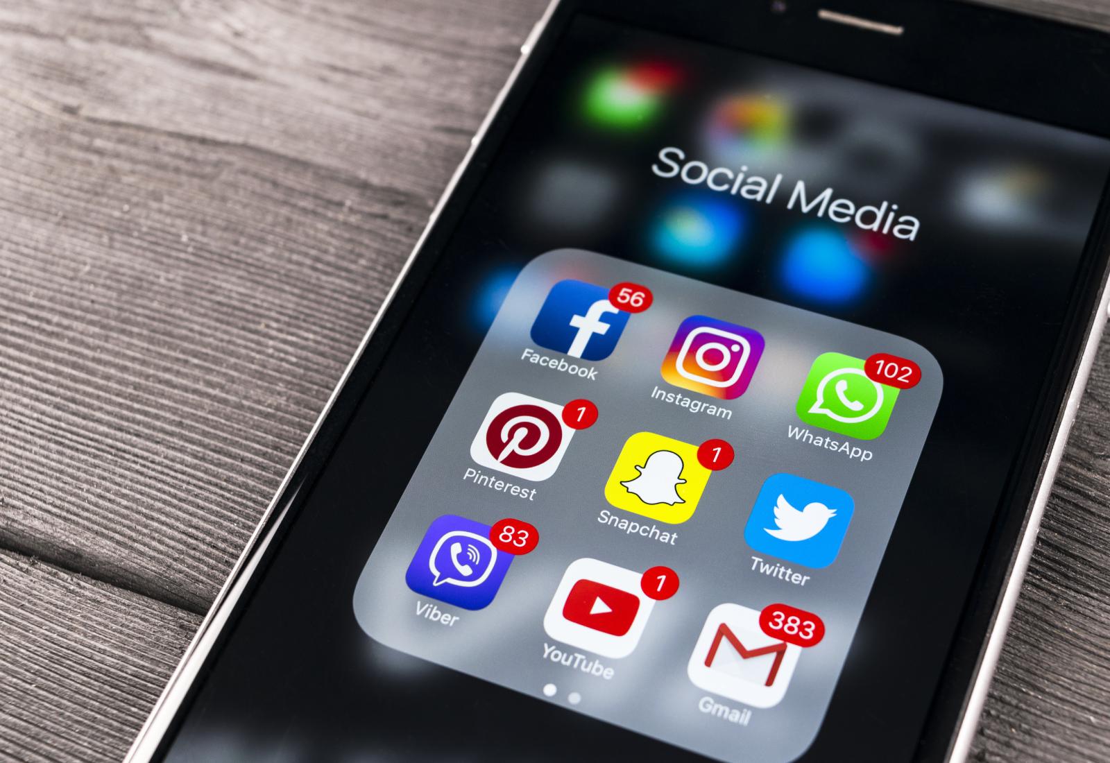 Top 5 de las redes sociales más utilizadas en el 2019